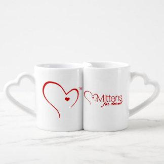 Mittens for Detroit Lovers' Coffee Mug Set