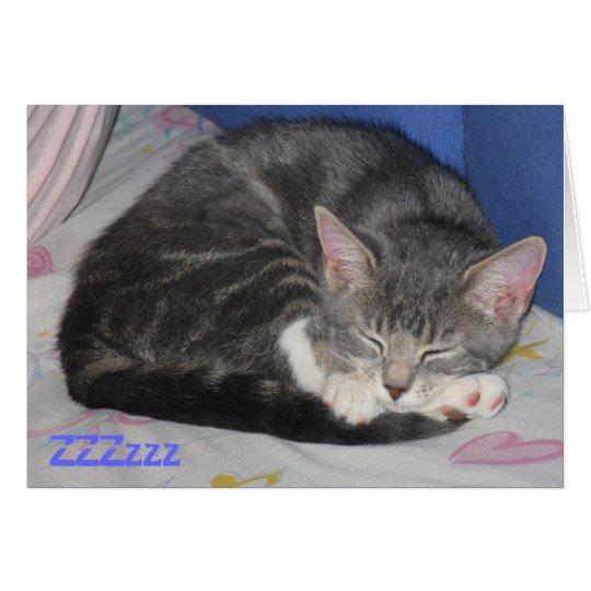 MIttens Kitten Sq Nap Card
