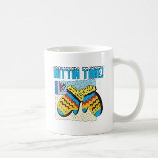 Mittin Time Basic White Mug