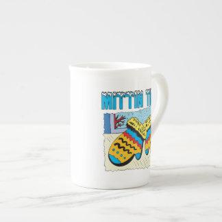 Mittin Time Bone China Mugs
