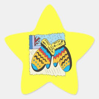 Mittins Star Sticker