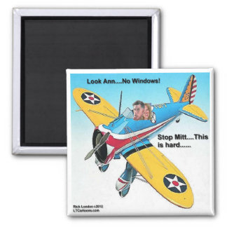 Mitts Windowless Airplane Funny Gifts & Tees Magnets