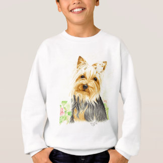 Mitzy a miniature Yorshire Terrier Sweatshirt