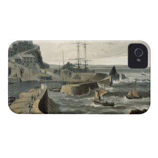 Mivagissey, Cornwall, from Volume VIII of 'A Voyag iPhone 4 Covers