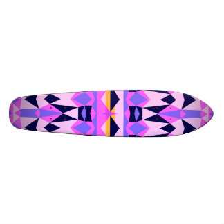 Mix #285 - Purple Tribal Skateboard