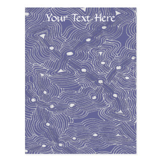 MIx and Match Color Abstract Ant Farm Post Card