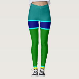 mix colour leggings