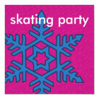 Mix & Match Collection Winter Snowflake Ice Skate Card