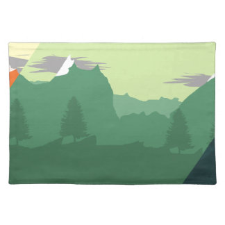 Mix Mountains Placemat
