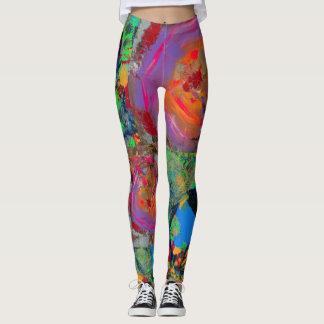 Mix of 2 leggings