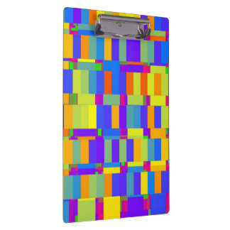 Mix of Abstract Colors Clipboard