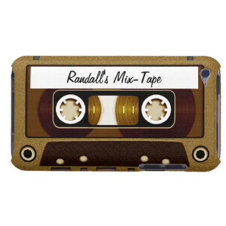 Mix Tape Personalized Gold Case-Mate iPod Touch Case