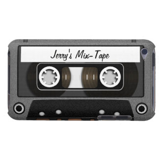Mix Tape Personalized iPod Touch Cover