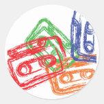 Mix Tapes - DJ Disc Jockey Stickers