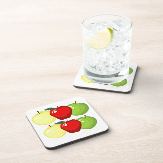 Mixed Apple Coasters