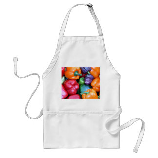 Mixed Bell Peppers Apron