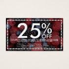mixed berries coupon card