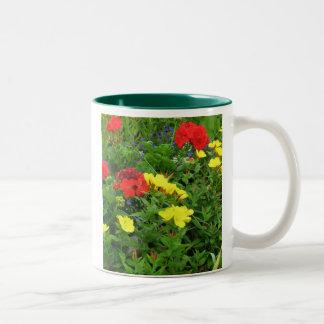 Mixed Blooms Olympia Farmer s Market Garden Mug