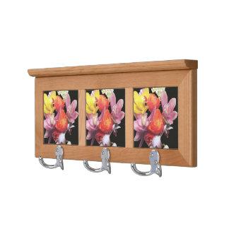 Mixed Bouquet Coat Rack