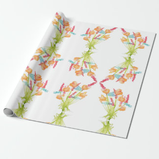 Mixed Bouquet Wrapping Paper