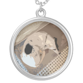 mixed breed dog necklace