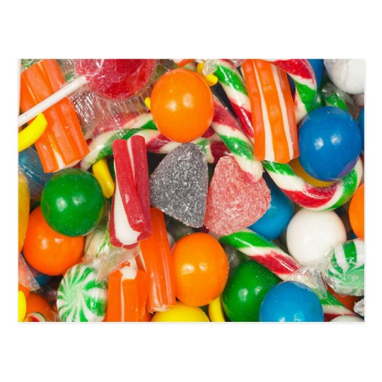 Mixed Candies - Postcard