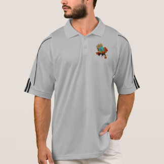 Mixed Color & Tech - Advanced Spherical Flowers! Polo Shirt