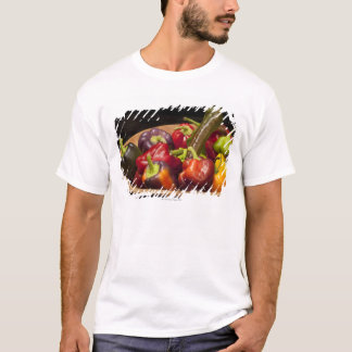 Mixed colors and types of peppers T-Shirt