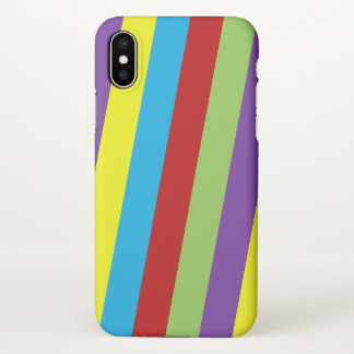Mixed Coloured iPhone 10 Cover