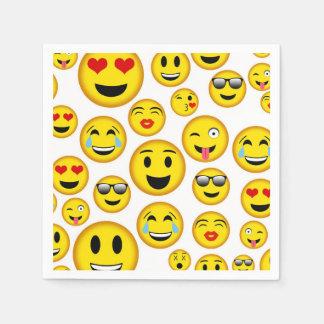 Mixed Emoji pattern party napkins Paper Napkin