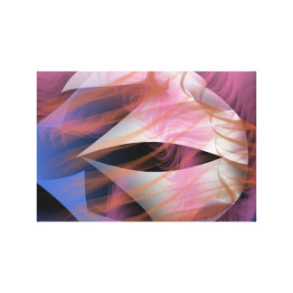 Mixed Emotions Abstract Design Gallery Wrapped Canvas