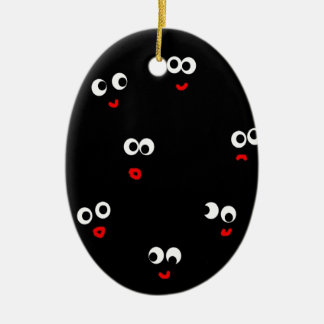 mixed emotions christmas ornament