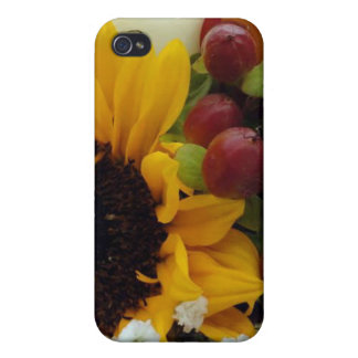 Mixed Flower Bouquet iPhone 4 Cover