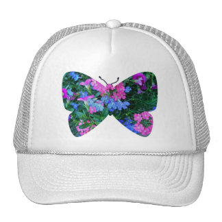 Mixed Flowers Butterfly Hat