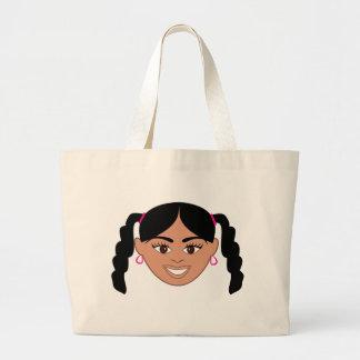 Mixed Girl Jumbo Tote Bag