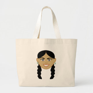 Mixed Girl Jumbo Tote Bag