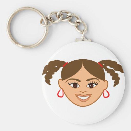Mixed Girl Keychain