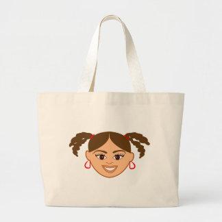 Mixed Girl Tote Bag