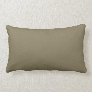 Mixed Herb (Green/Brown) Colour Lumbar Pillow