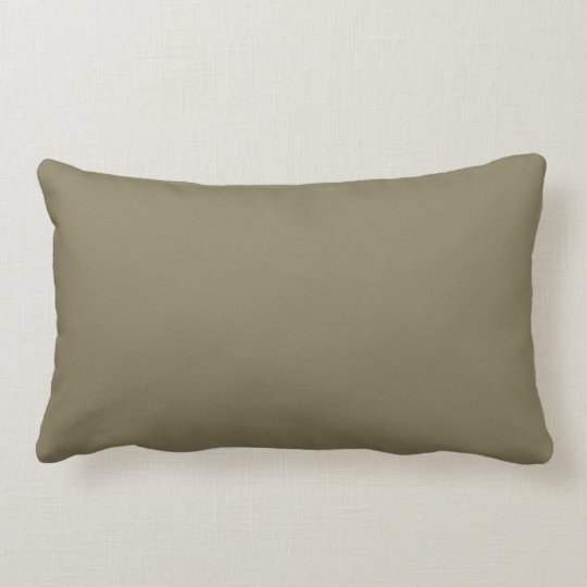 Mixed Herb (Green/Brown) Colour Lumbar Pillow