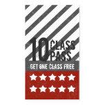 Mixed Martial Art s Business Card 10 Class Pass