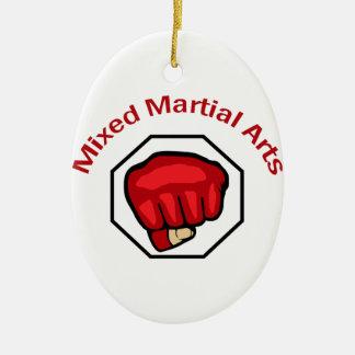 MIXED MARTIAL ARTS CHRISTMAS ORNAMENT