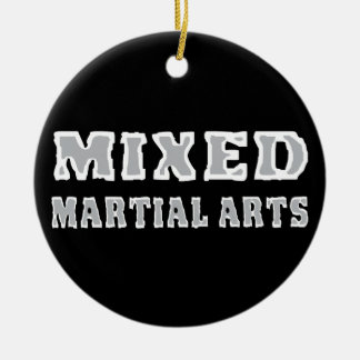Mixed Martial Arts Christmas Ornament