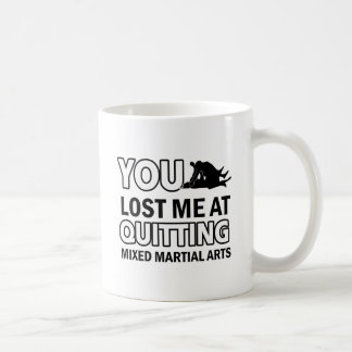 Mixed Martial Arts designs Basic White Mug