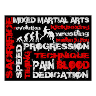 Mixed Martial Arts - Elements of Revolution Poster