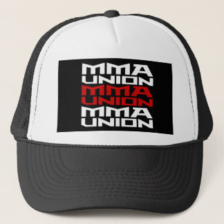 Mixed Martial Arts [MMA] Fighters Union v06, White Trucker Hat