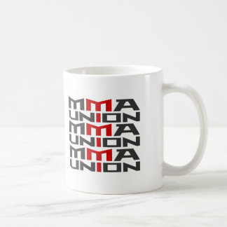 Mixed Martial Arts [MMA] Fighters Union v08, Black Basic White Mug