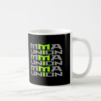Mixed Martial Arts [MMA] Fighters Union v09 Silver Basic White Mug