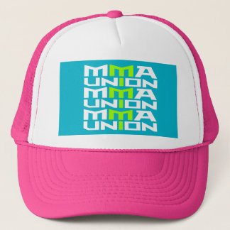 Mixed Martial Arts [MMA] Fighters Union v10, White Trucker Hat