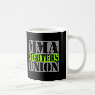 Mixed Martial Arts [MMA] Fighters Union v24 Silver Basic White Mug